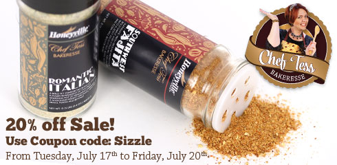 Honeyville's Sizzlin' with 20% off Sale!