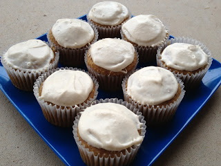 Mouth Watering Sweet Potato Cupcakes Recipe