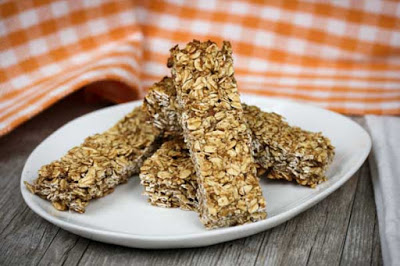 Banana Granola Bars