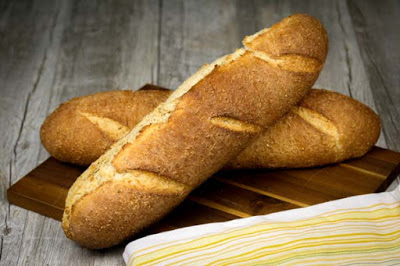 Cracked Grain Baguettes