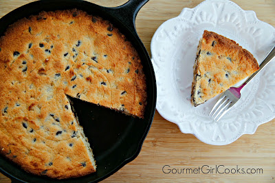 Chocolate Chip Skillet Cookie Cake